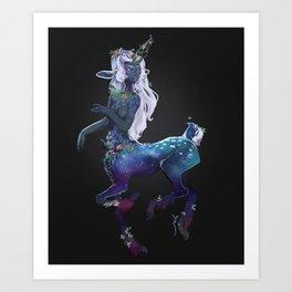 Centaur Girl Art Print