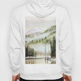 Mount Rainier Fog Hoody