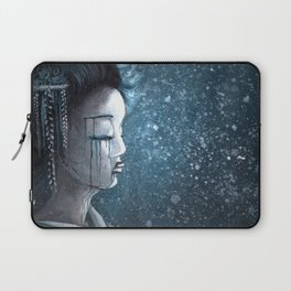 Geisha in Snow: The Stoic Concubine Laptop Sleeve