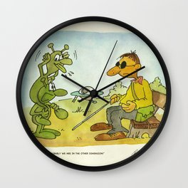 First Contact! Wall Clock