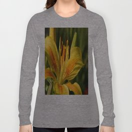 Beautiful Yellow Lily Long Sleeve T-shirt