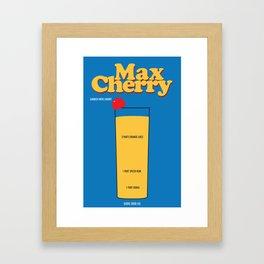 Max Cherry Framed Art Print