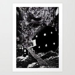Purgatorio Art Print