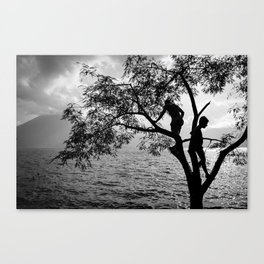 Over the Lake Canvas Print