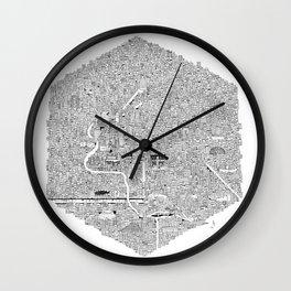 CDMX Wall Clock