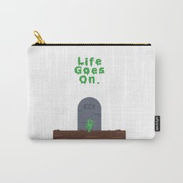 Life Goes On (Zombie) Carry-All Pouch