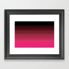 Pink is the New Black is the New Pink Framed Art Print