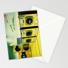 wash away your sorrow... Stationery Cards