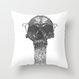 Toxic Consumers Throw Pillow
