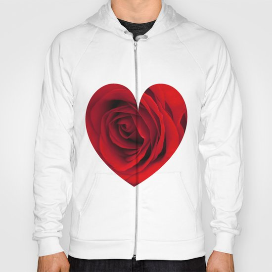 Heart of a rose  Hoody