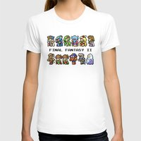 final fantasy T-shirts featuring Final Fantasy II Characters by Nerd Stuff