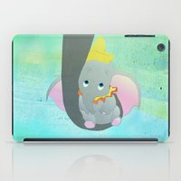 dumbo iPad Cases featuring dumbo and his mom by studiomarshallarts