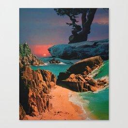 Heaven Lays Sleeping Canvas Print