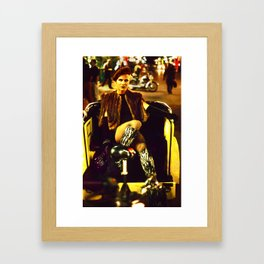 Transvestite, London Soho Framed Art Print
