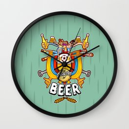 The Country of Beer! Wall Clock