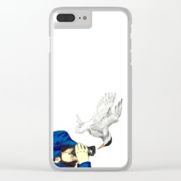 Birdwatching Clear iPhone Case