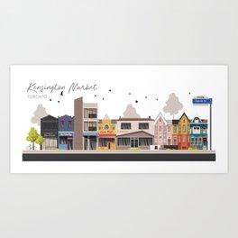 Kensington Market 1 - Toronto Neighbourhood Art Print