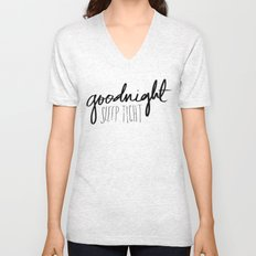 Goodnight Unisex V-Neck