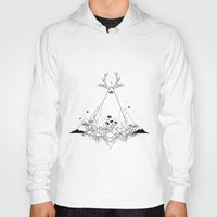 animal crew Hoodies featuring Animal by R. Gilbert