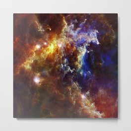 The Crab Nebula  - Beautiful Universe Metal Print