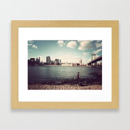 In Search Of..  Framed Art Print