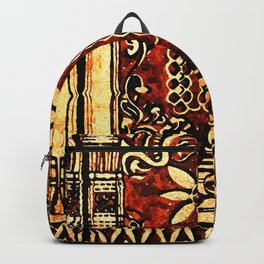 Bohemian Carvings Backpack
