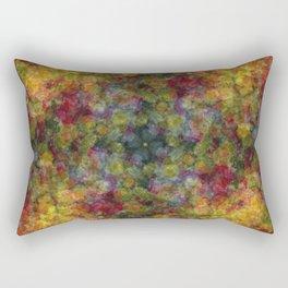 Floral Patchwork Rectangular Pillow