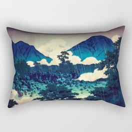 Under the Rain in Doyi Rectangular Pillow