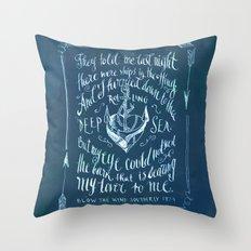 Old Sailor Song No.2 Throw Pillow