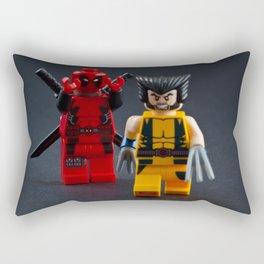 Not a Knight Rectangular Pillow