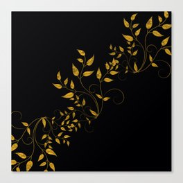 TREES VINES AND LEAVES OF GOLD Canvas Print