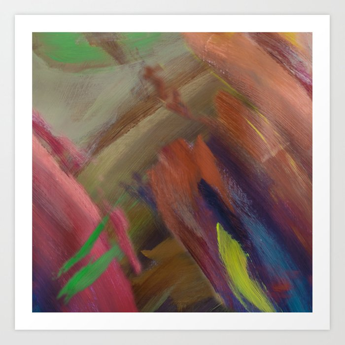 Abstract Emotion Art Print