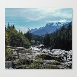 Mountains of Vancouver Island Canvas Print