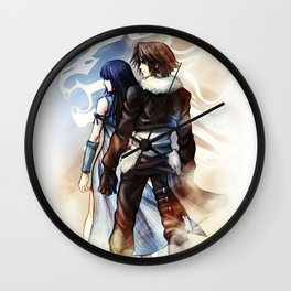 Squall and Rinoa - Griever Wall Clock