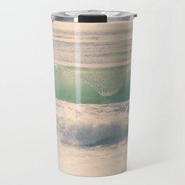 Green Spray Travel Mug