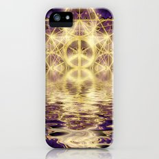 Geometry Peace Reflections iPhone SE Slim Case
