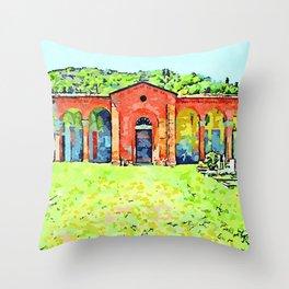 Fognano: cemetery Throw Pillow