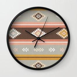 Vintage Kilim (big) Wall Clock