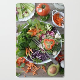 Vegan summer III Cutting Board