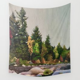 Upstate New York Gorges Wall Tapestry