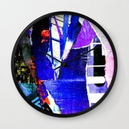 Blissful Purple Wall Clock