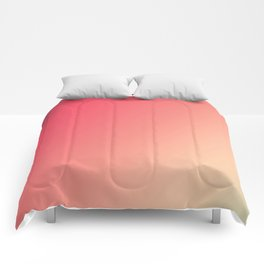 Mandarin Red - Gradients are the new colors Comforters