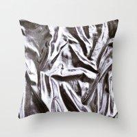 disco Throw Pillows featuring DISCO by paginnation