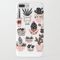 Mid-Century Modern Cacti iPhone 7 Plus Slim Case