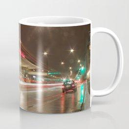Norreport at night 2 Copenhagen Coffee Mug
