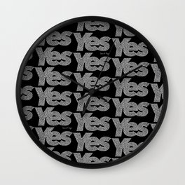 Yes Repeat Wall Clock