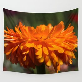 Aroma orange flower Wall Tapestry