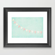 Yearning for Summer Framed Art Print