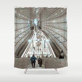 Leipzig Undergound Shower Curtain