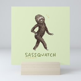 Sassquatch Mini Art Print